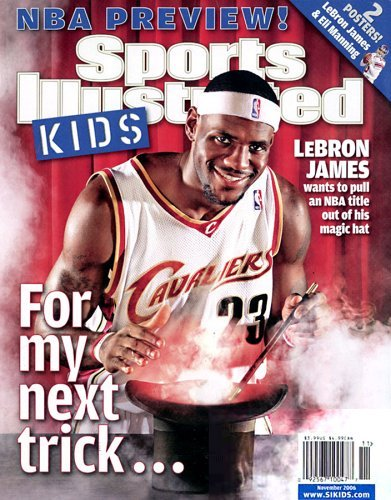Sports Illustrated for Kids magazine cover
