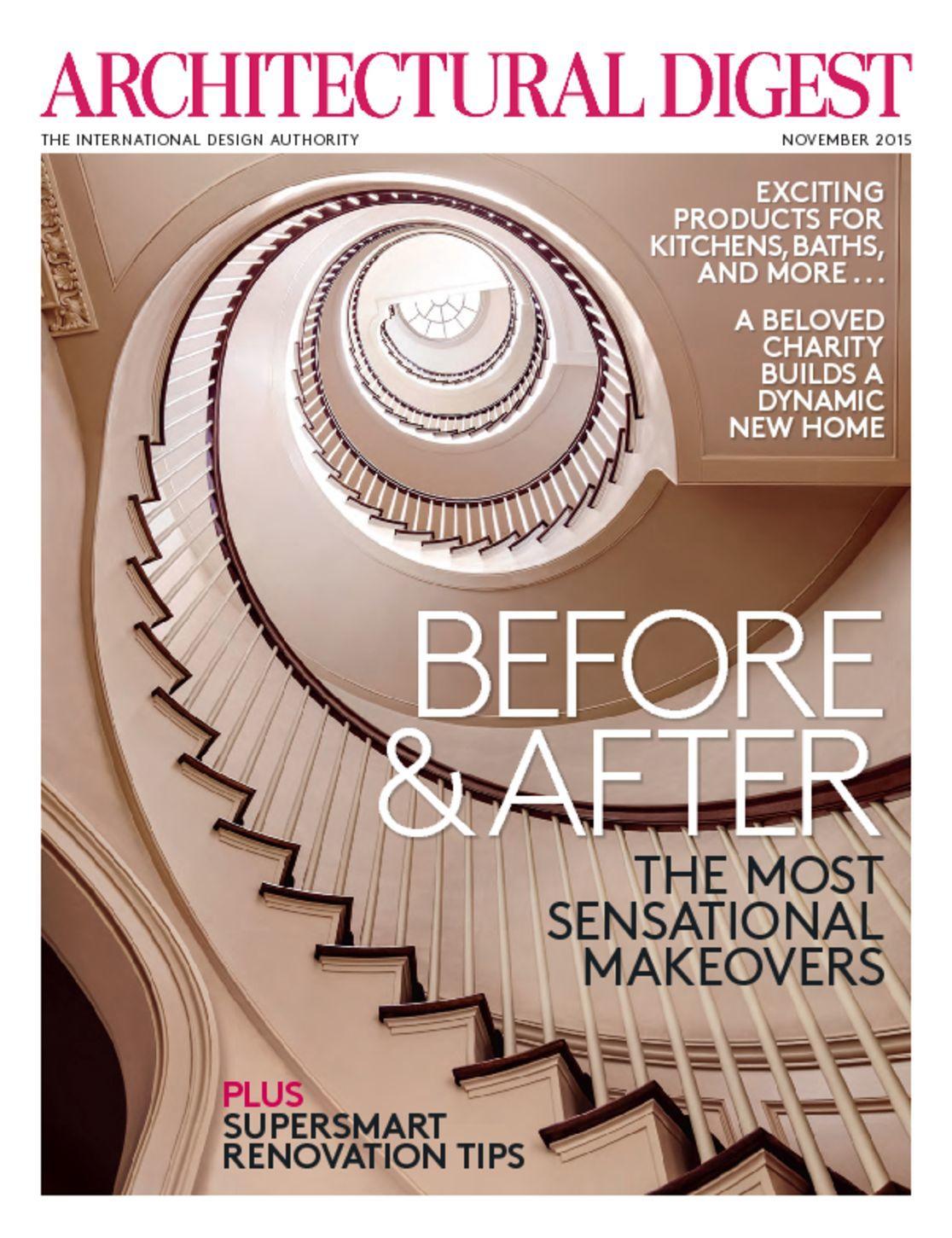 Architectural Digest: 4313-architectural-digest-Cover-2015-November-Issue.jpg