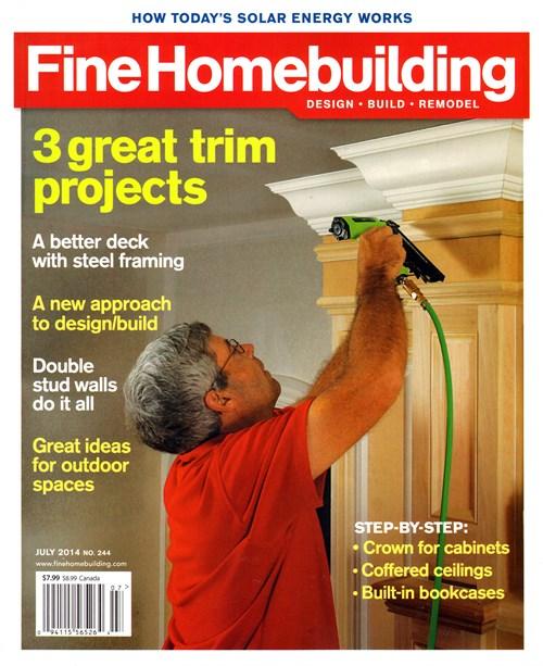Fine homebuilding magazine for Fine homebuilding