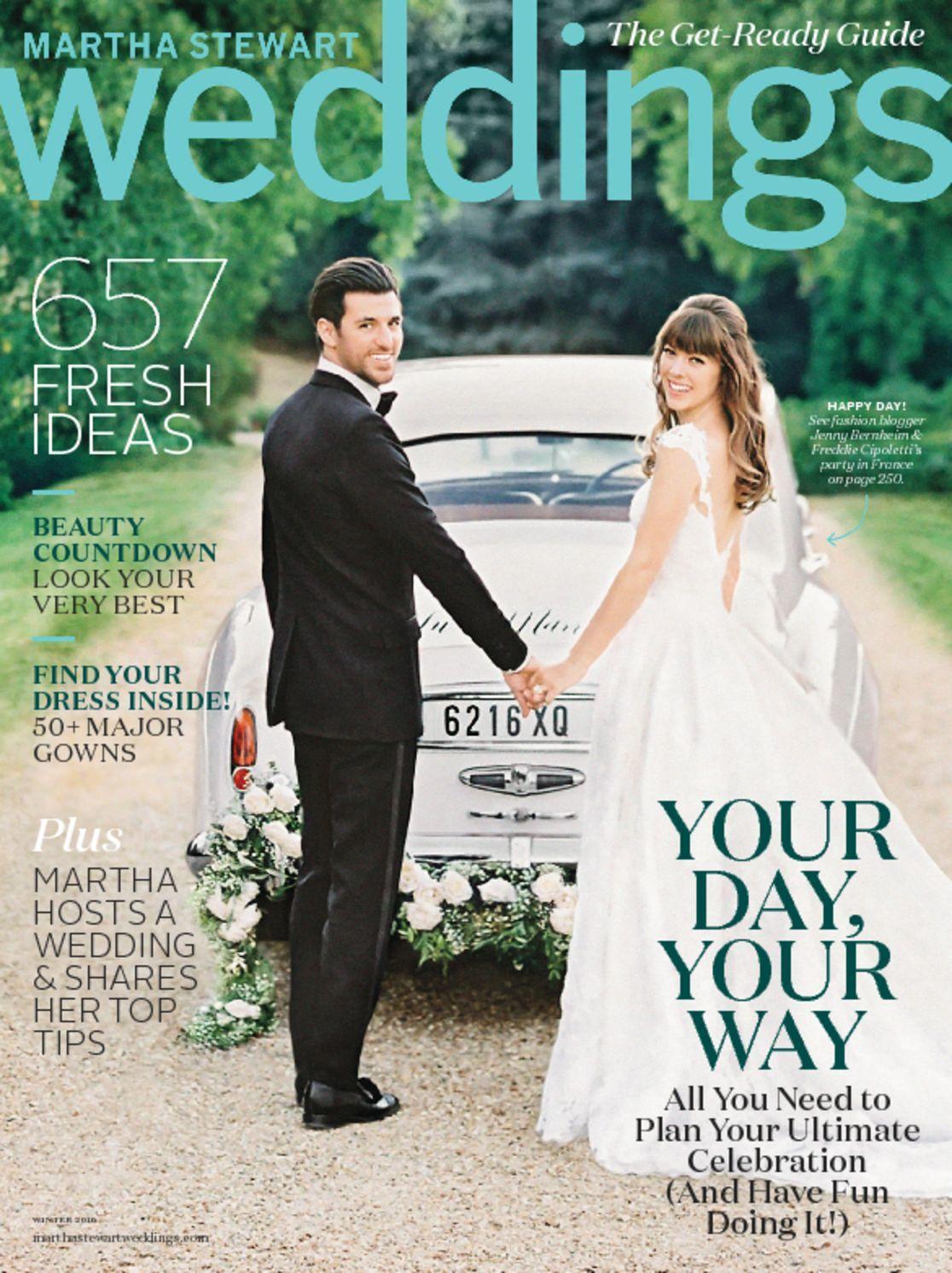 sneak peek - fall issue of Martha Stewart Weddings - Ritzy