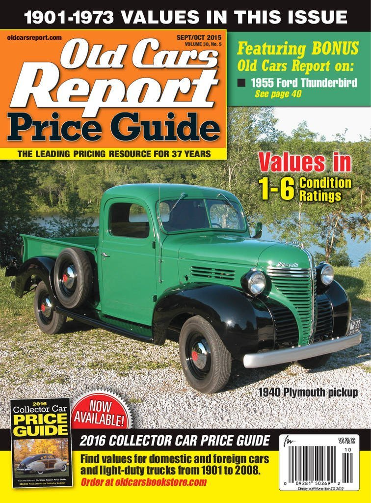 old cars price guide magazine. Black Bedroom Furniture Sets. Home Design Ideas