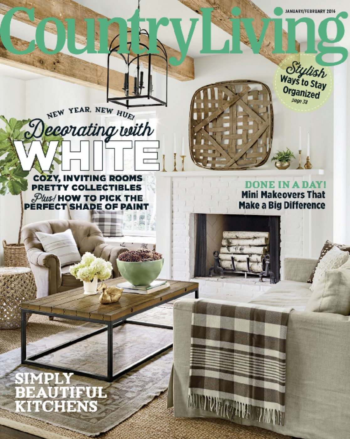 Country living magazine home life in the country for Home living magazines