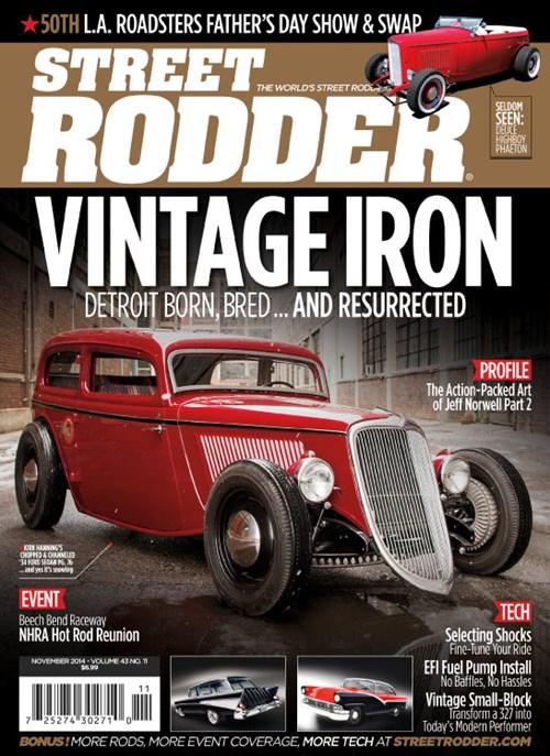 Street Rodder Magazine March 2009