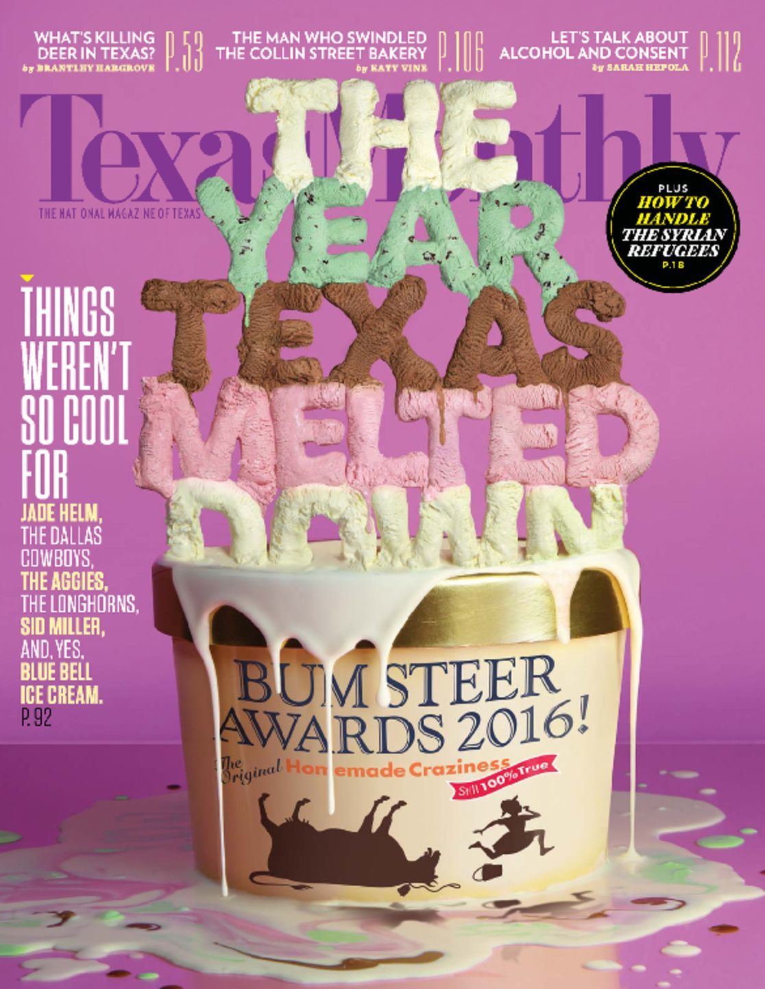 TEXAS MONTHLY Magazine (June 2015) Urban Cowboy