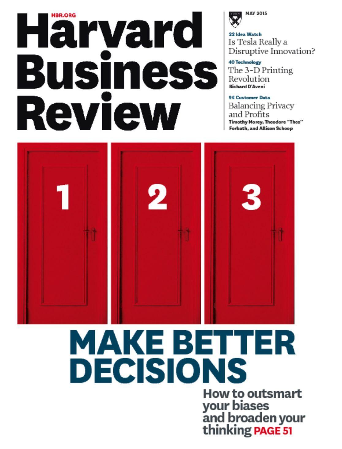 Harvard Business Review Magazine New Subscription | Magazine