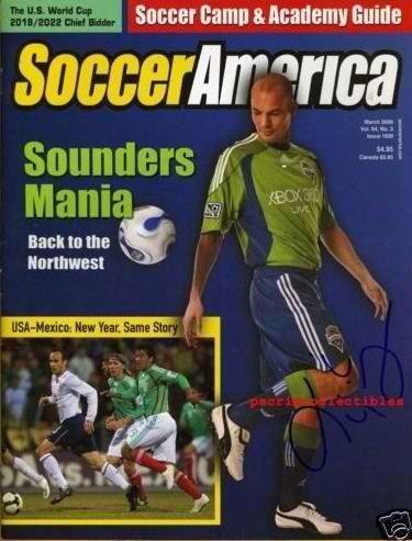 Soccer America Magazine