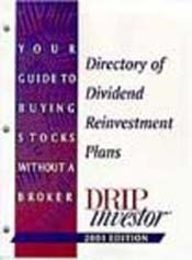 Directory of Dividend Reinvestment Plans Magazine