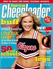"American Cheerleader 9 ... graces the cover of the latest issue of ""15 & Teens"" Magazine from Peru."