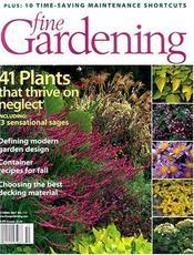 Fine Gardening cover art
