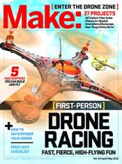 Make: Magazine (DIY Projects, How-Tos, Electronics) 1-Year Subscription for $24.99