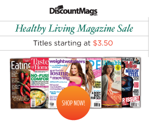 Cooking, Fitness, & Healthy Living Magazines on Sale -- Subscriptions Start at Just $3.50 a Year!