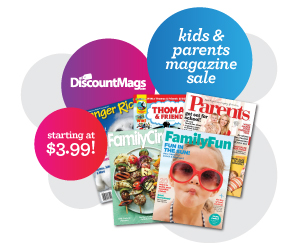 Kids and Parents Magazine Subscription Sale -- Titles Start at Just $3.99  Year!